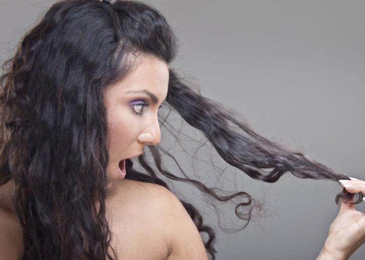 babosa no cabelo