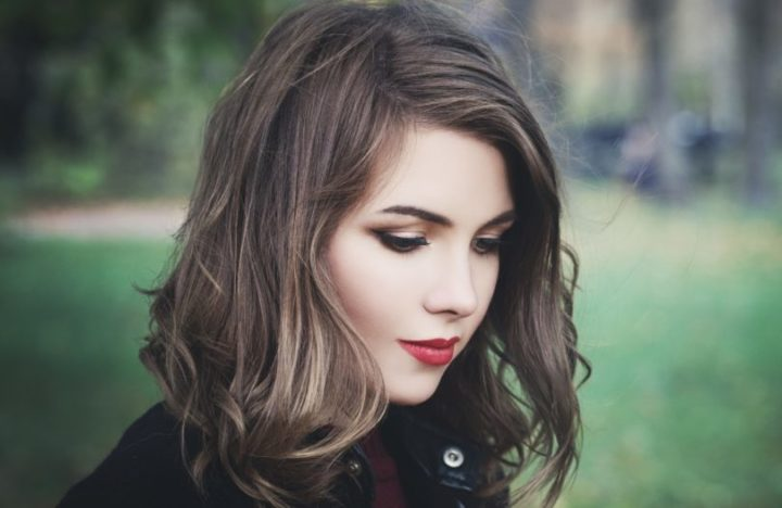 cabelos médios