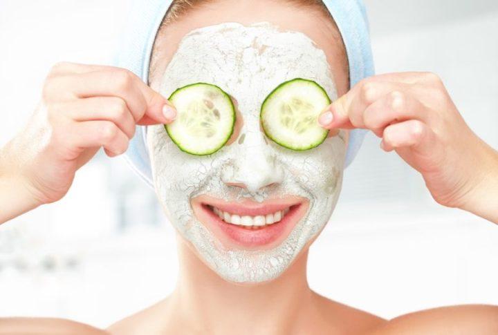 hidratação caseira para o rosto