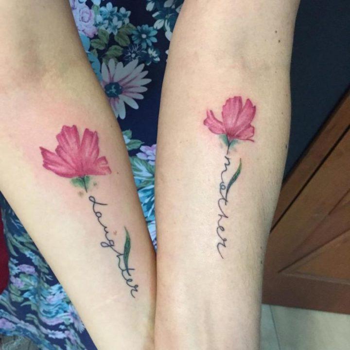 tatuagem de mãe e filha