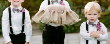 roupas para pajem de casamento