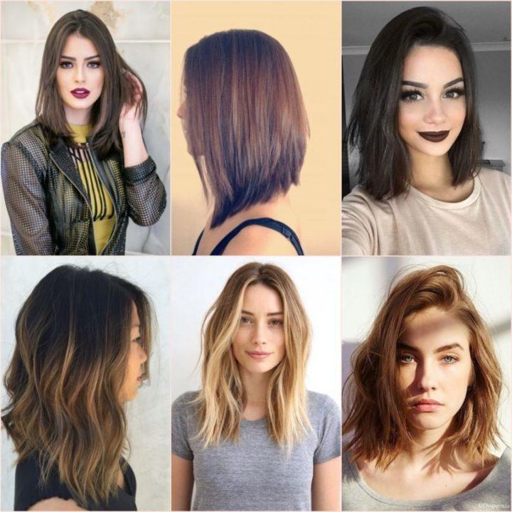 cortes de cabelo médio 2020