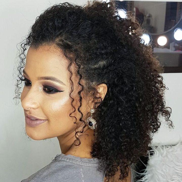 penteados simples 2020