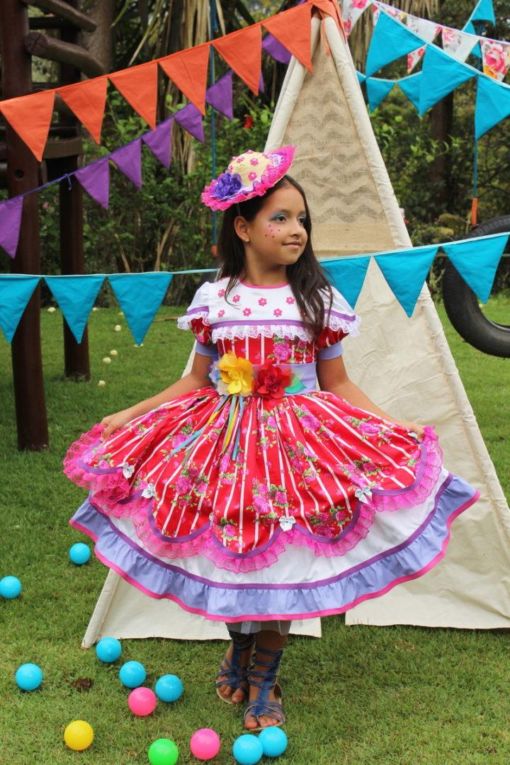 vestidos de festa junina 2020