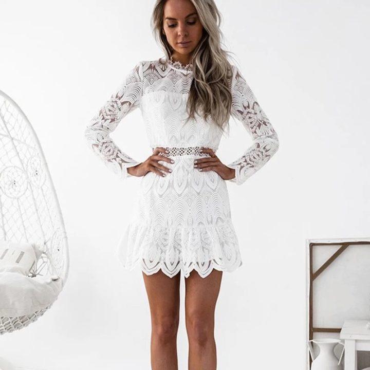 vestidos de renda 2020