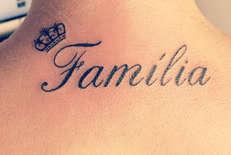 Tatuagem de família