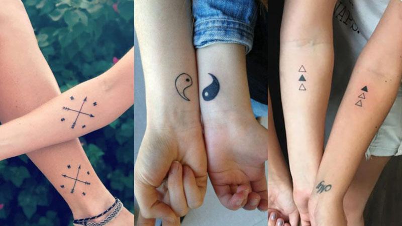 Tatuagem de amigas