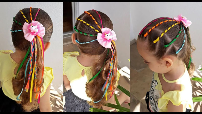 Penteados para festa junina