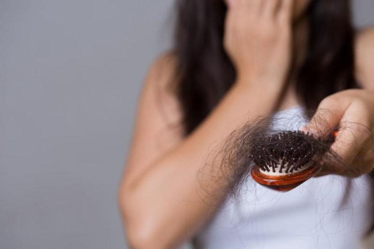 Vitamina para queda de cabelo